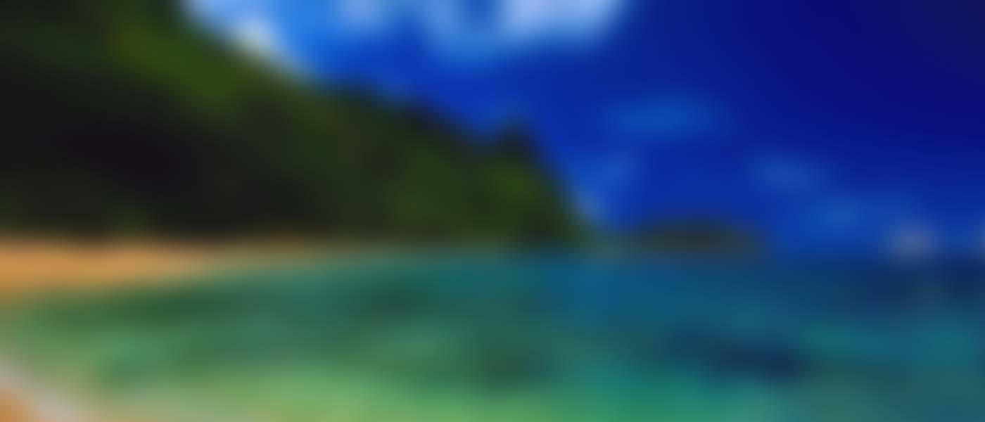 beach-blurred