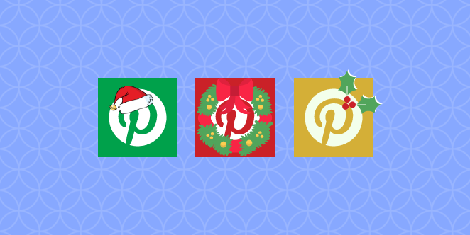 Christmas on Social Media - Pinterest