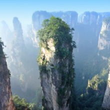 Private Cloud - triella service - mountain landscape of zhangjiajie national park,china